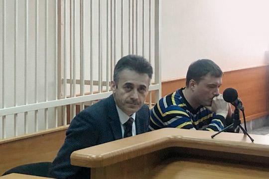 АдвокатФизули Балафендиев (слева)