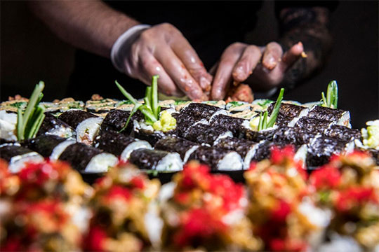 «Если выбудете качественно относиться кподаче суши, товсе будет нормально»