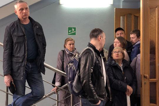 На финальное заседание по делу бывшего руководства ИнтехБанка в Вахитовский районный суд Казани пришло около десятка слушателей, вкладчиков бывшей империи ТФБ, частью которой Интех и являлся