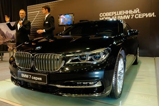 BMWседьмой серииочень удачно закрыла квартал, ипока ееспурт продолжается. Иэто при том, что минимальный апрельский ценник, от5,48млн рублей, на790 тысяч выше самого доступного январского