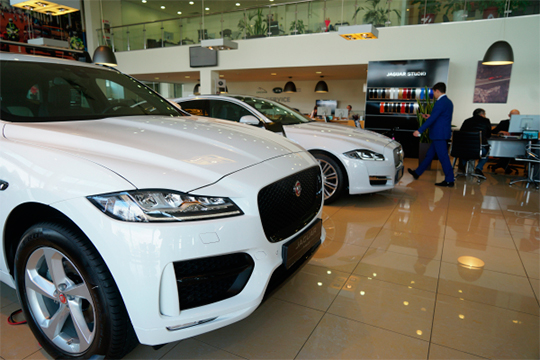 Jaguar, после абсолютного рекорда впрошлом году, переживает легкое похмелье. Минус три до12 зарегистрированных вТатарстане авто