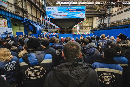 В Татарстане 26 крупных и средних предприятий ОПК, на которых работают 47 тыс. человек