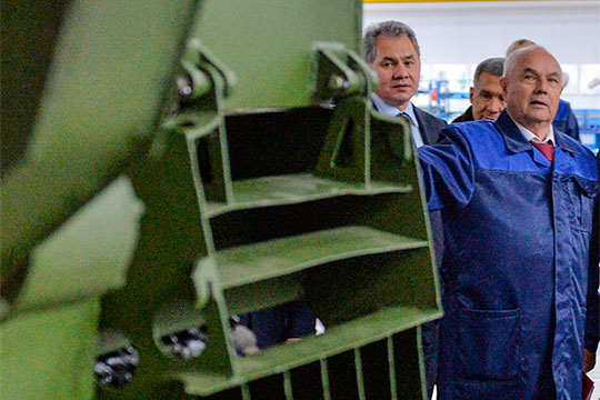 Принявший военное наследие КАМАЗа генеральный директор АО «Ремдизель» Фаиз Хафизов поднялся в нашем топе (18)