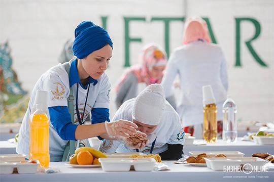 «Цены возросли. Например, еще недавно мы в шатре мечети Марджани готовили ифтары на 400 человек и обходилось это в 30 тысяч рублей, а сейчас у нас столы на 250 человек, а стоит это 45 тысяч рублей»