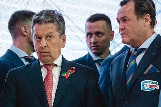 Наиль Маганов,гендиректор ПАО «Татнефть», президент ХК«АкБарс» второй год подряд возглавляет наш рейтинг, хотя клуб инесмог сохранить усебя Кубок Гагарина