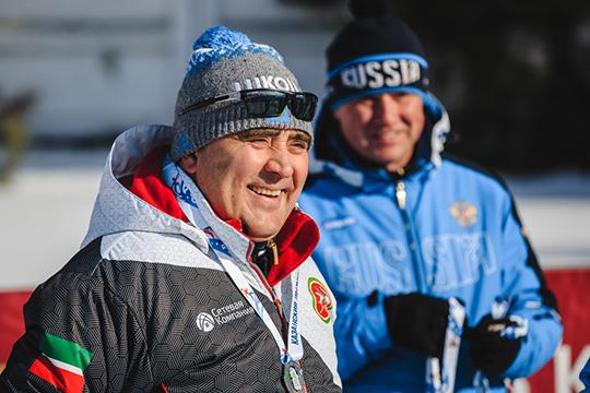 Ильшат Фардиев, гендиректор «Сетевой компании» ипрезидент федерации лыжных гонок, поднялся сразу на9 позиций вверх, впервую тройку