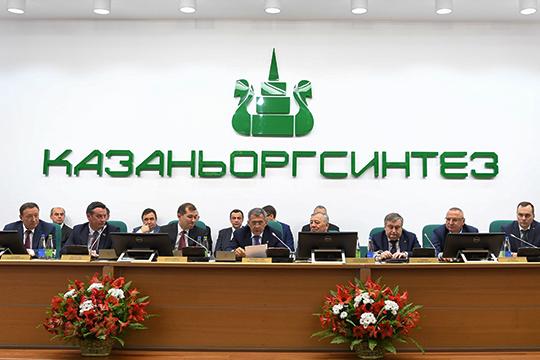 C 2013 года «отцы» ТАИФа доверили ему самое ценное— онвозглавил совет директоров «Казаньоргсинтеза»