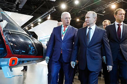 Николай Колесов vsАндрей Богинский: чей «Ансат» приглянется Владимиру Путину