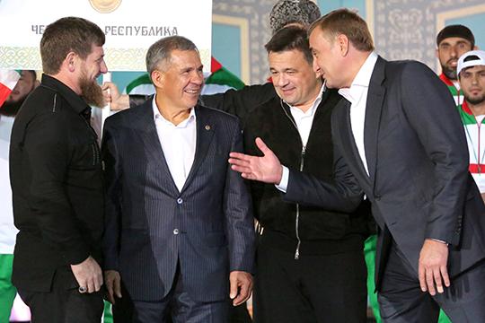 Рустам Минниханов попал в «желтую» зону четвертого рейтинга политической устойчивости губернаторов «Госсовет 2.0»