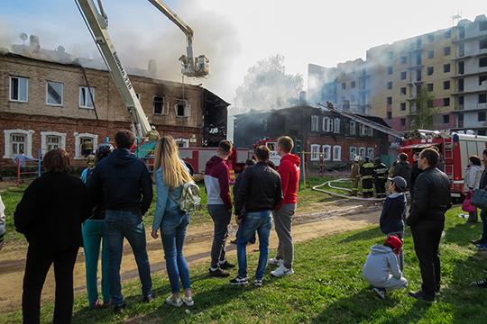 Как стало известно «БИЗНЕС Online», полицейские установили предполагаемого автора пожаров в зеленодольских «Полукамушках»