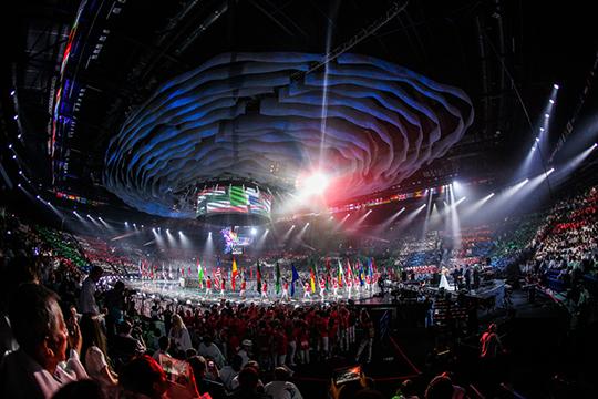 Церемония открытия и закрытия WorldSkills пройдёт на «Казань Арене»