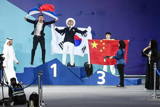 Вадим Поляков, как студент КНИТУ-КХТИ, отправился на чемпионат мира в Абу-Даби и выиграл единственное для Татарстана «золото»