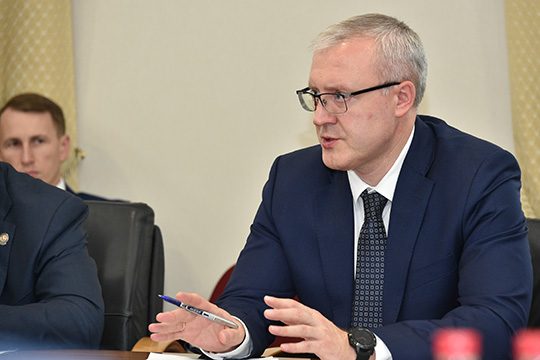 Алексей Ниденс пояснил, накаких условиях будет выделяться федеральное финансирование