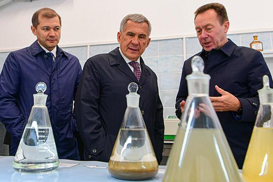 «Мыимели определенные неудобства»: как Рустам Минниханов хвалил ТАИФ заочистные