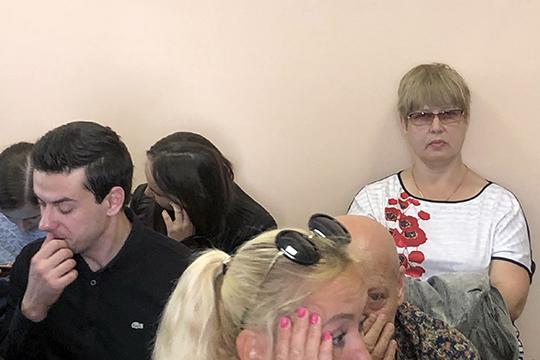 Марина Халиуллина выступала сместа.Виновной себя непризнала, указав, что вовсем виноват «господин Аюпов»