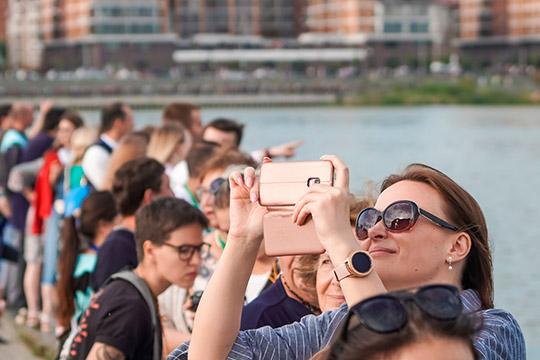 Казань посетили 142,1тыс. иностранцев из169 стран. Больше всего иностранных туристов едет изКитая, Казахстана, Турции иФранции