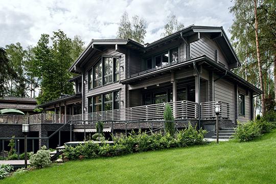ВРоссии производитель реализовал 16 проектов коттеджных поселков, авовсем мире уже более 100тыс. семей оценили качество домов финского производителя