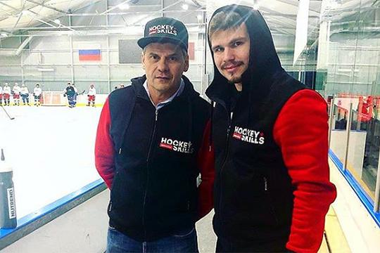 «В России созданы все условия для развития молодых игроков. В последнее время открылось много хороших хоккейных академий»