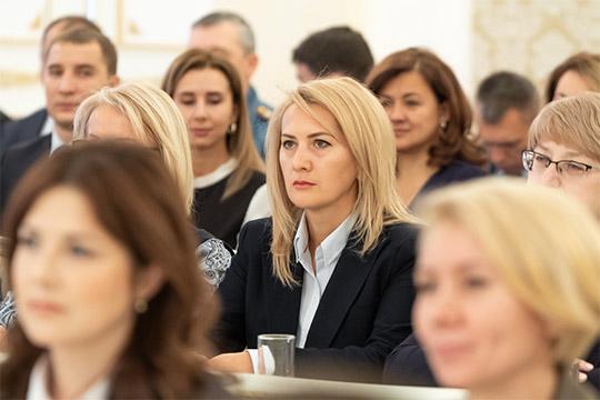 Зал поприветствовал нового главного архитектора КазаниИльсияр Тухватуллину.