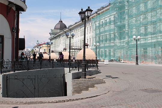 Строительство подземной галереи приурочили кпразднованию 1000-летия Казани,его стоимость оценивалась в150млн рублей