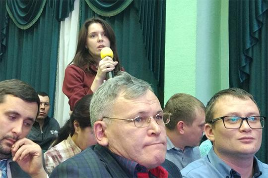 Анастасия Новикова попросила уточнить, как компании удалось достичь минимума концентрации веществ в стоках. Девушку удивило, что заявленные концентрации находятся ниже предела растворимости
