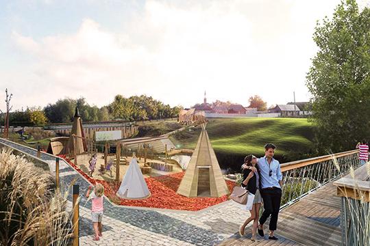 Врамках проекта планируется благоустройство набережной реки Сарашлы, которая протекает между Аняково иселом Поисево. Набережная должна стать объединяющим центром для двух деревень