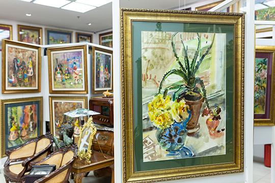 Почему растет цена наработы татарской художницы Гайши Рахманкуловой?