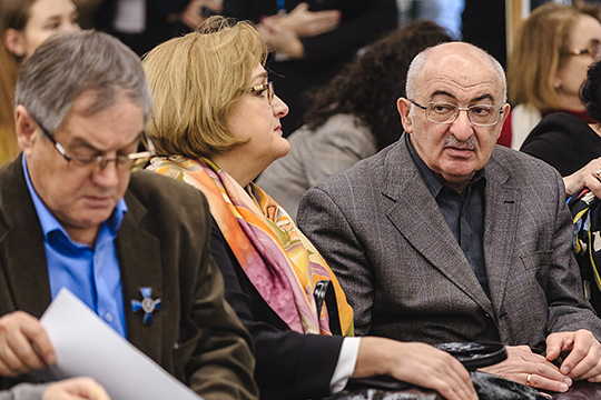 Когда Александр Дембич (справа) начинал разработку своей концепции, он рассчитывал ее до 2030 года, напомнила Балтусова