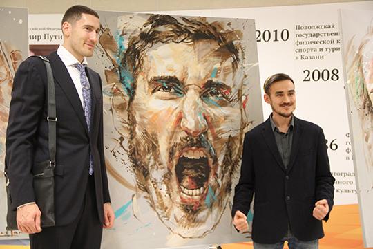 «Проект про спортсменов ясчитаю одним изсамых удачных. Так как Татарстан славится выдающими спортсменами, немог ненарисовать портреты этих легенд»