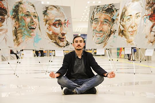 Руслан Ибрагимов: «Моя цель— стать самым известным татарским художником. Звучит смело, ноэто чистая правда. Планирую идальше развивать свою авторскую технику «брыгизм», совершенствоватьее»