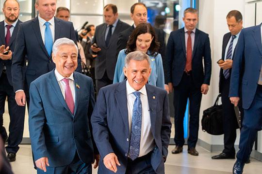 Фарид Мухаметшин и Юрий Камалтынов — дали понять, что партия власти будет выдвигать на голосование кандидатуру действующего президента Рустама Минниханова
