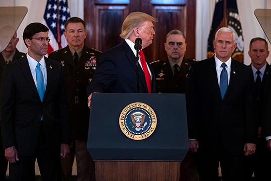 Трампа поддерживает в этих намерениях уйти из Ирака весь младший и средний состав армии США. Не поддерживает генералитет, который привык пилить вкусные бюджеты. Но это другая история, Трамп с ними по этому вопросу был в конфронтации изначально