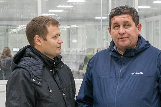 Высокие шансы стать сити-менеджером автограда имеет 38-летний Ильмир Исхаков (слева), замруководителя исполкома Челнов, курирующий строительство и архитектуру
