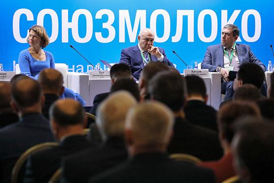 В московском «Крокус Экспо» прошел съезд Национального союза производителей молока («Союзмолоко»)