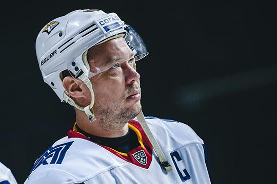 Сергей Мозякин, самый высокооплачиваемый игрок КХЛ