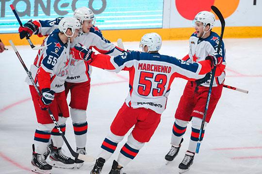 Действующему чемпиону из Москвы достаточно одержать две победы в трёх играх, чтобы выиграть конференцию. ЦСКА остаётся сыграть с худшей командой лиги — минским «Динамо», с «Сочи» и СКА