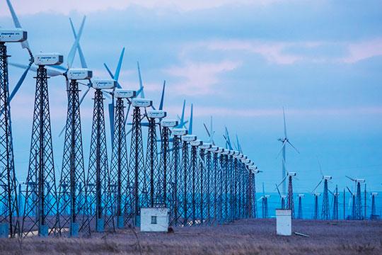 Как рассказали нам вминпромторге РТ, республика заинтересована нетолько встроительстве ветряков, ноивпроизводстве компонентов ветроэнергетического оборудования