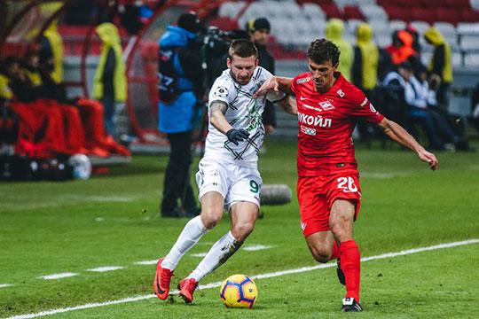 Посравнению скубковым матчем против «Динамо» (1:0) Курбан Бердыев сделал четыре изменения всоставе