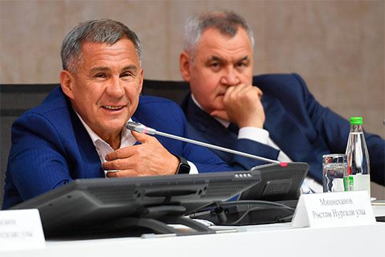 Рустам Минниханов: «Еще ниразу ниодин губернатор нежаловался нататар!»