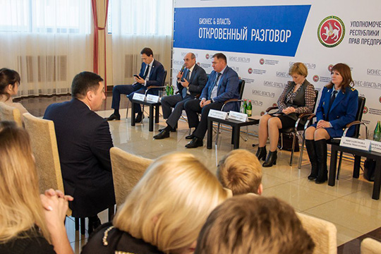 В Менделеевске напервое место были поставлены вопросы, касающиеся создания искусственных препятствий для ведения бизнеса
