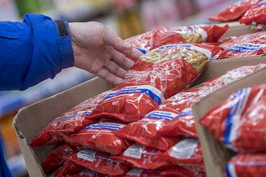 Один избазовых продуктов, макароны сбросили 8 рублей иустановили свой рекорд