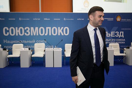 Сегодня на X съезде Национального союза производителей молока («Союзмолоко») Андрей Даниленко сложил с себя полномочия председателя правления