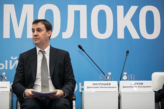 Дмитрий Патрушев: «В 2018 году государство производство молока во всех хозяйствах всех категорий увеличилось на 1,5% и составило 30 млн 600 тысяч тонн