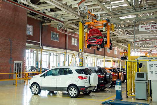 Вэтом году совокупная загрузка заводов Ford-Sollers непревысила15%. Возможно, напоказатель повлияли иранние негативные прогнозы— впервые овозможном свертывании Ford вРоссии стало известно вначале января