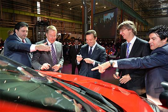 СПFord-Sollers просуществовало вРоссии 8лет. В2011 году Ford иSollersВадима Швецовавложились напаритетной основе