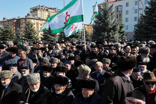 «Народы Кавказа, вчастности— ингушский народ, неверят вто, что современное российское государство обеспечит имполноценное гражданство навсей своей территории»