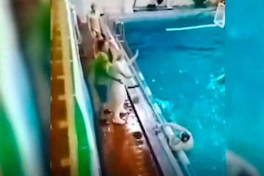 «Тут уже переклинило просто!»: ватерпольный тренер изКазани объяснил свой прыжок наврага