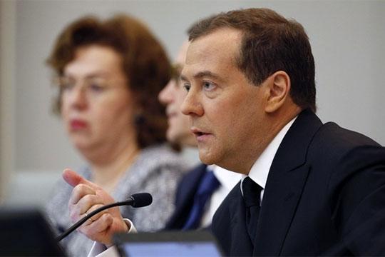 Дмитрий Медведев: «Сегодня мы остро ощущаем демографическое эхо 1990-х годов, когда в России смертность превысила рождаемость»