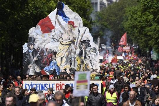 «Положение левых трагично ивоФранции, ивомногих других странах»