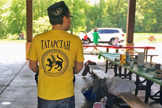 Сабантуй вВашингтоне: «Многие были накрутых автомобилях сномерами «Казан», «Татарстан»